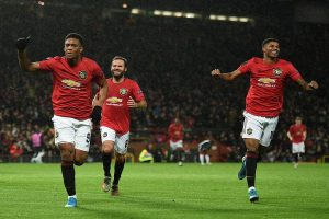 Manchester United beat Partizan 3-0 to reach last 32 in UEFA Europa League