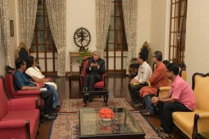 West Bengal Governor meets JUTA delegation discusses IoE tag, UGC pay scale