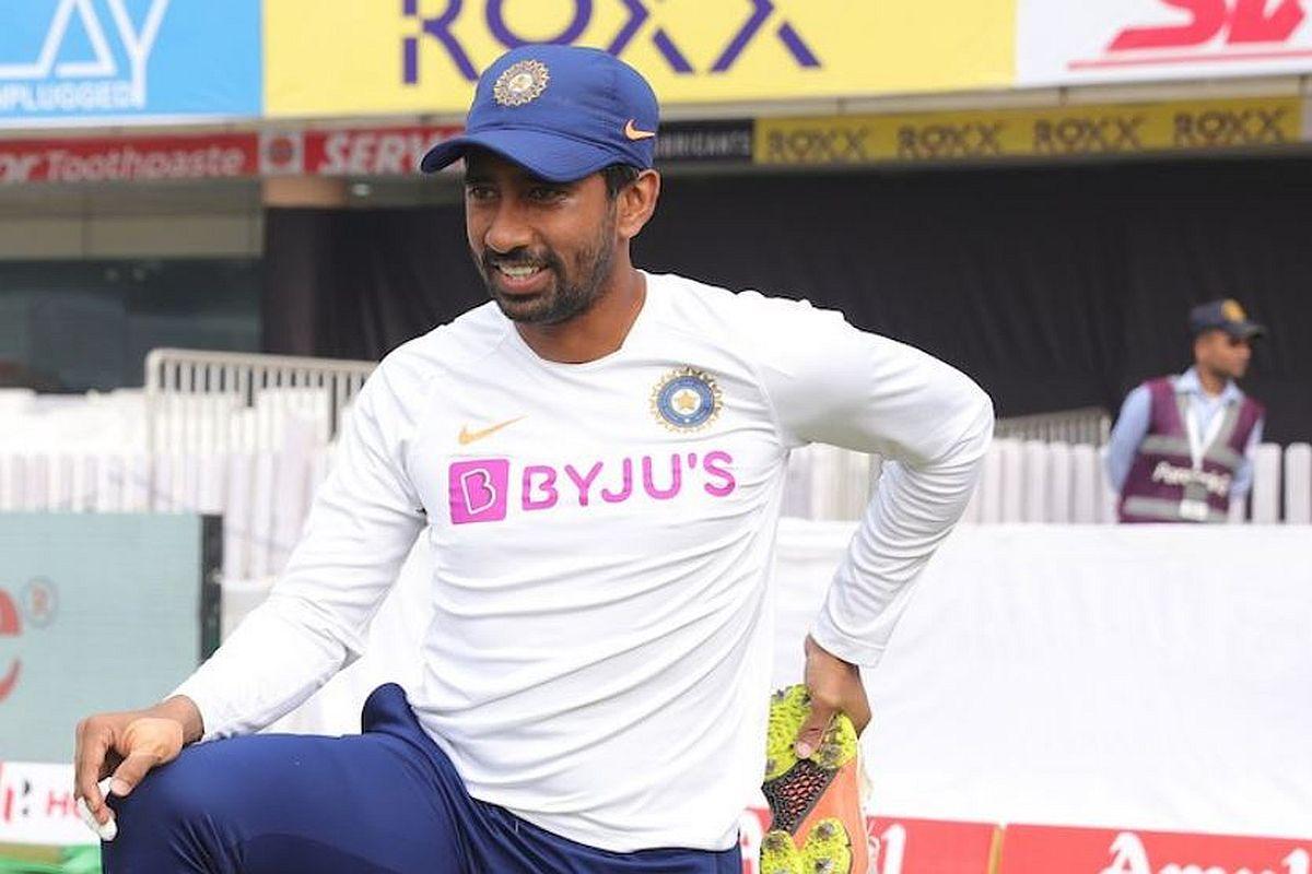Wriddhiman Saha, India vs Bangladesh Pink-Ball Test 2019, New Zealand vs India Test Series 2019, India's Tour of New Zealand 2019