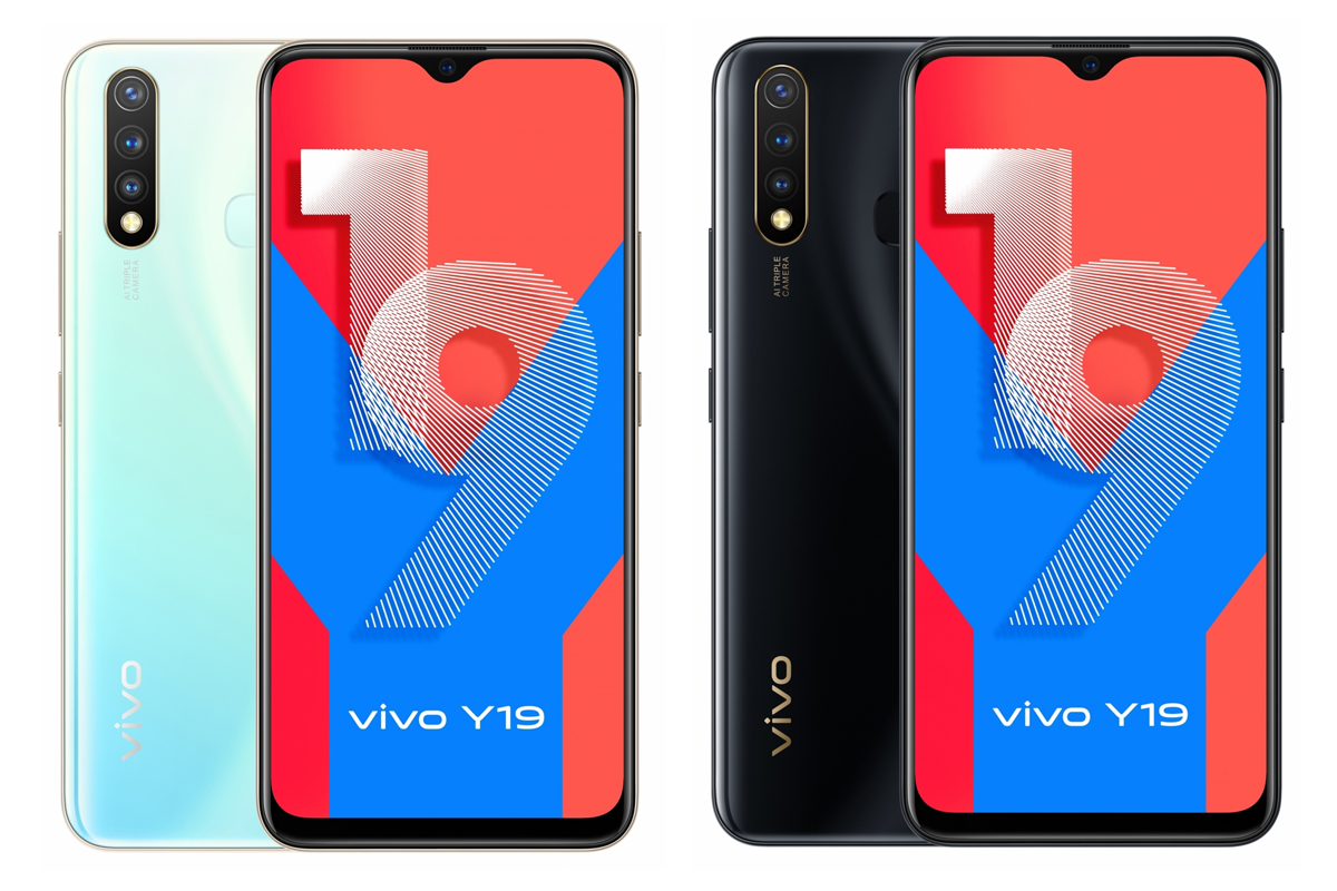 Vivo launches Y19 refreshing the Y series; Price, specs, availability discussed