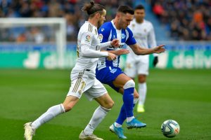 La Liga 2019-20: Real Madrid beat Alaves to replace Barcelona at top