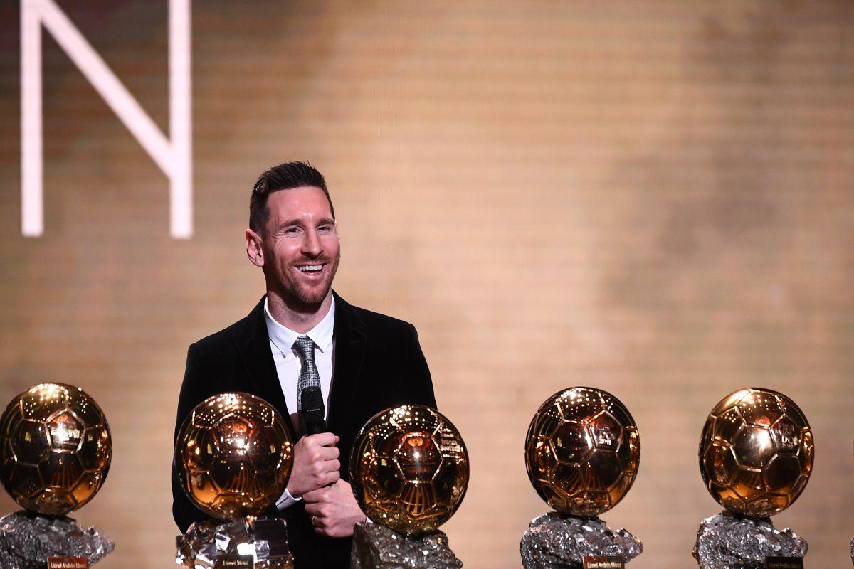 Lionel Messi, Megan Rapinoe, Ballon d'Or 2019, Virgil van Dijk, messi 6th ballon d'or, Messi Ballon d'Or 2019, France Football magazine