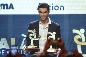 Juventus star Cristiano Ronaldo wins Serie A player of the year award