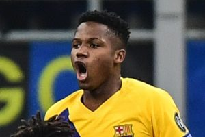 Barcelona striker Ansu Fati breaks 22-year-old record to become Champions League's youngest scorer