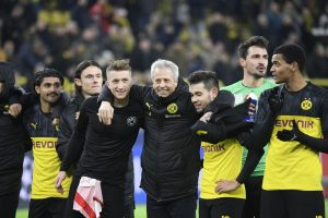 Borussia Dortmund beat Slavia Prague 2-1, enter Champions League knockouts