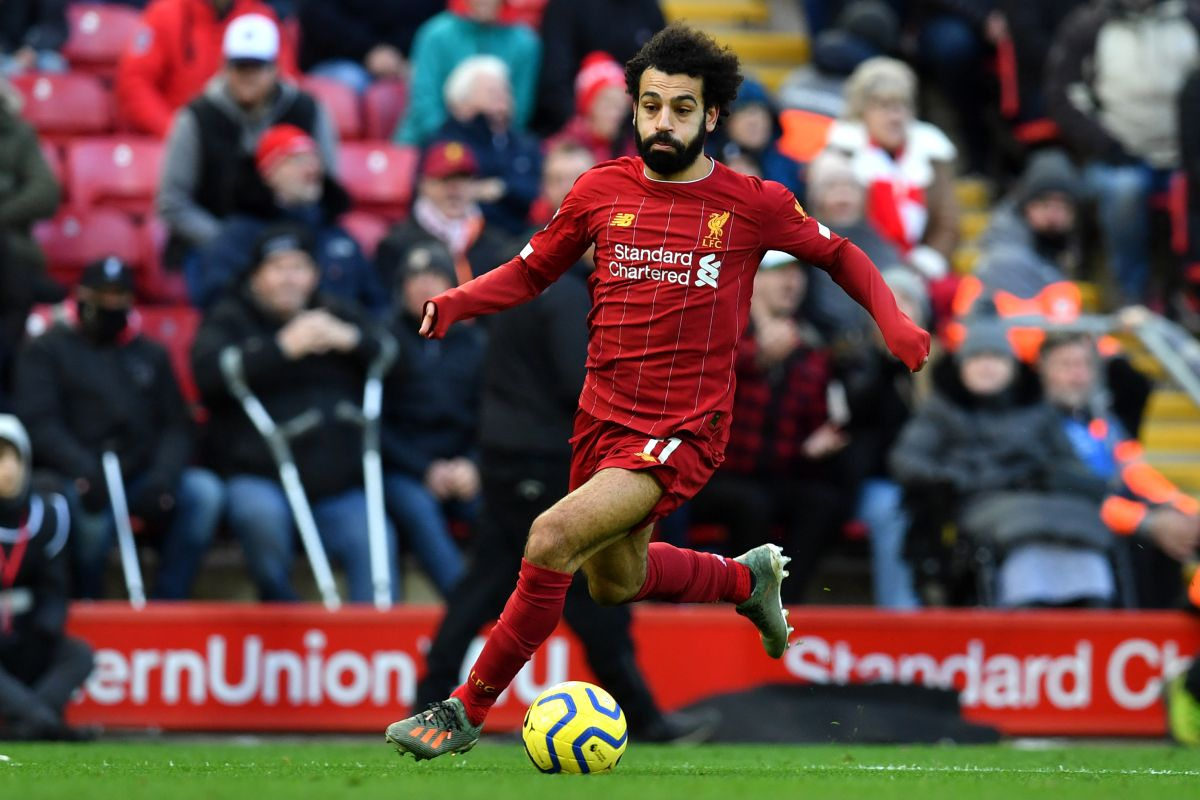Mohamed Salah, Liverpool Player of the Month,
