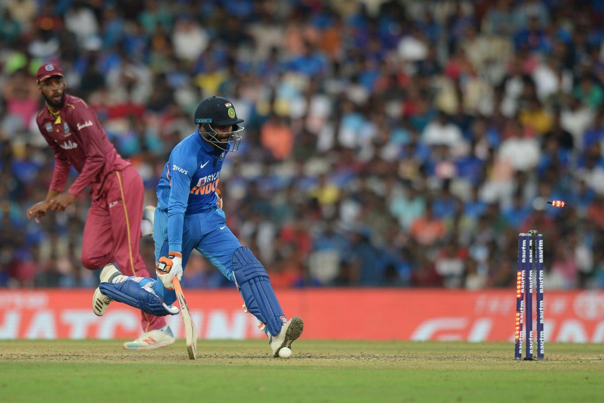 Ravindra Jadeja, India vs West Indies, Ravindra Jadeja run-out,
