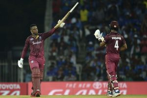 Hetmyer, Hope score tons as West Indies beat India by 8 wickets in 1st ODI
