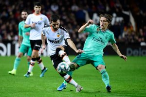 La Liga: Real Madrid share spoils with Valencia, fail to replace Barcelona at top