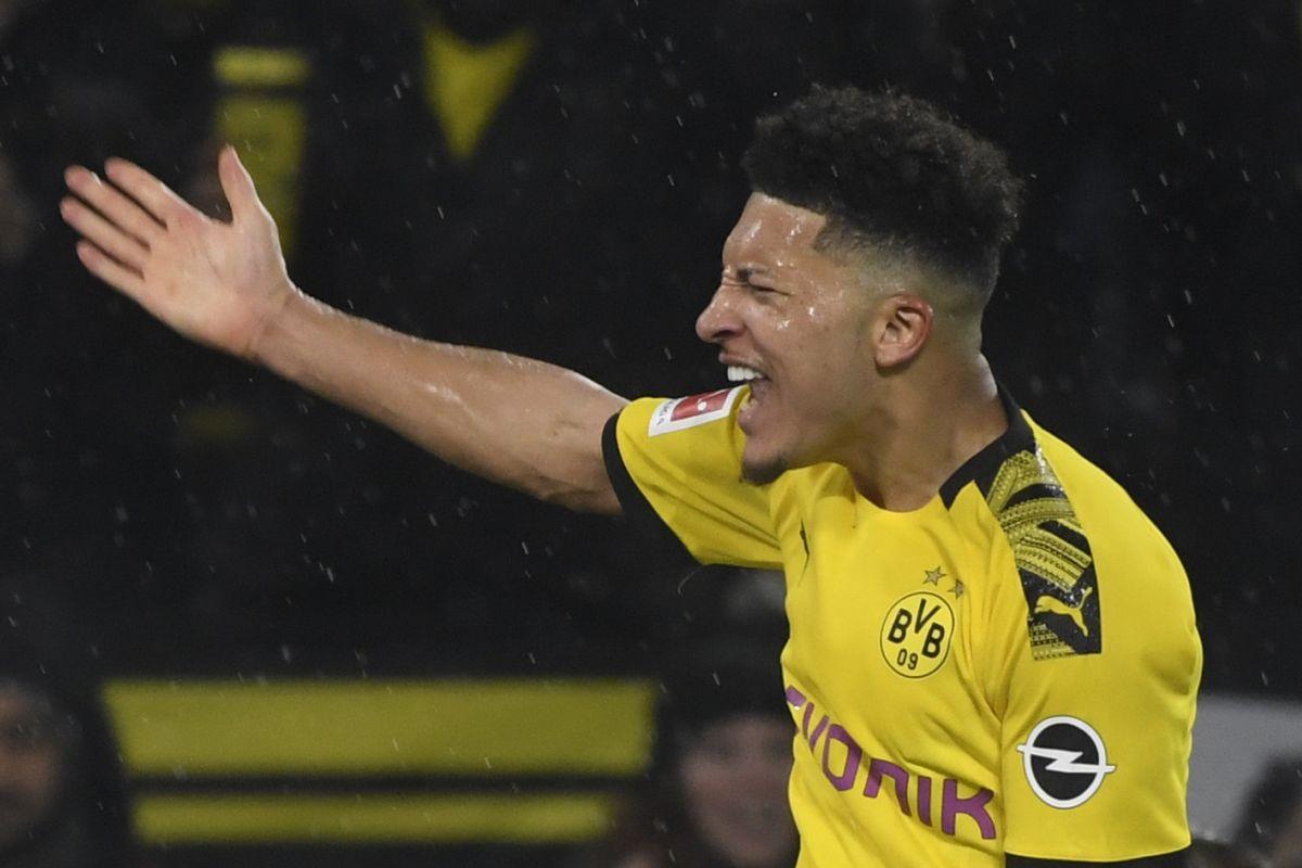 Jadon Sancho, Bundesliga, Borussia Dortmund,
