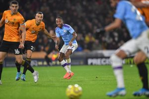 Premier League: Despite Raheem Sterling's brace Wolves stun Manchester City 3-2