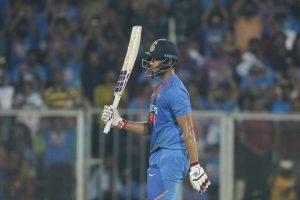 Shivam Dube scores maiden international fifty