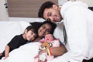 Arpita Khan, Aayush Sharma share first glimpse of new-born Ayat