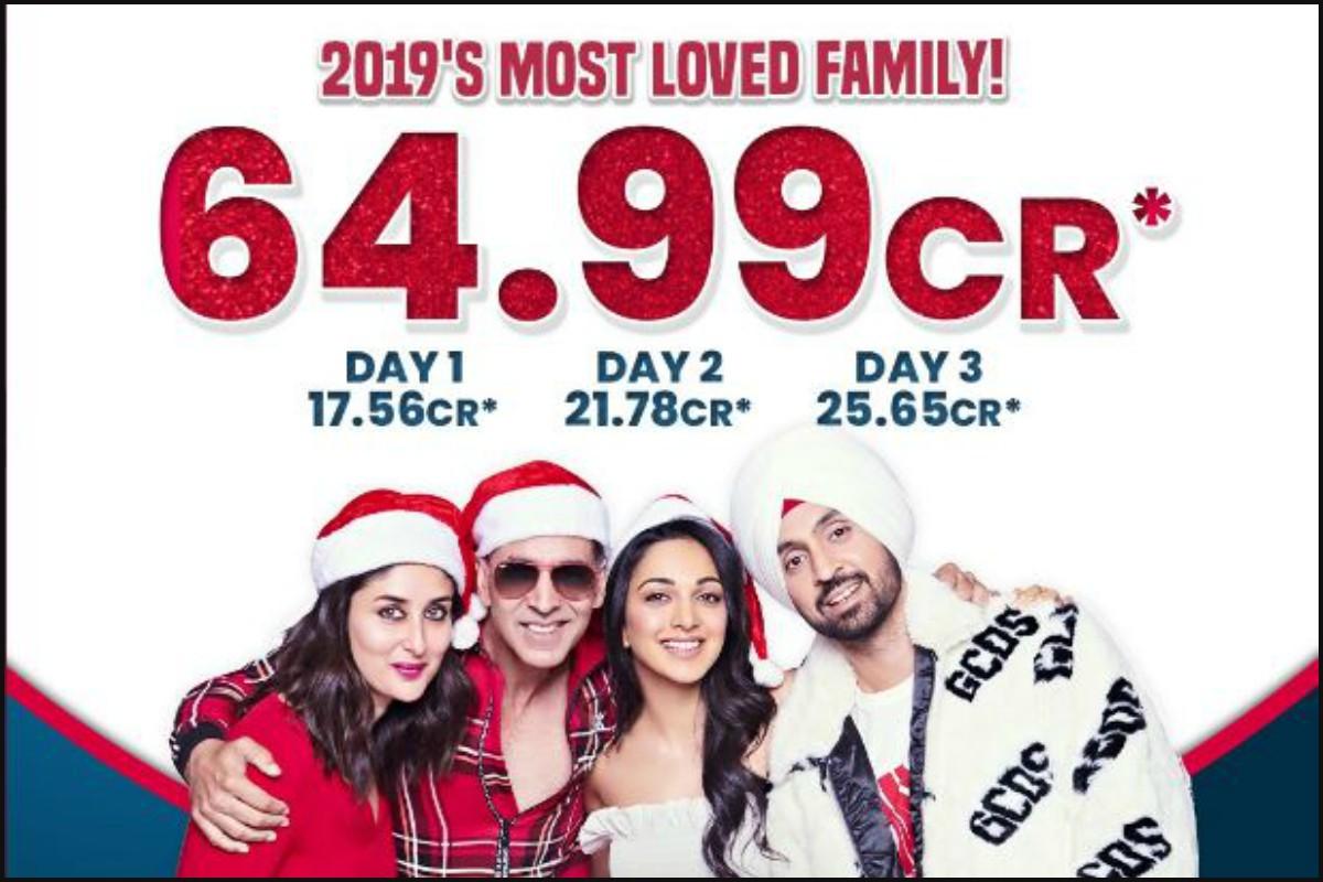 Good Newwz, box office, Akshay Kumar, Kareena Kapoor Khan, Kiara Advani, Diljit Dosanjh, Taran Adarsh, Kesari, Mission Mangal, Housefull 4,