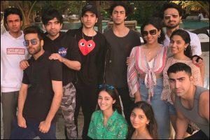 Ananya Panday, Suhana Khan celebrate New Year at SRK's Alibaug home