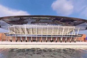 Everton unveils plans for new stadium in Liverpool's World Heritage Site