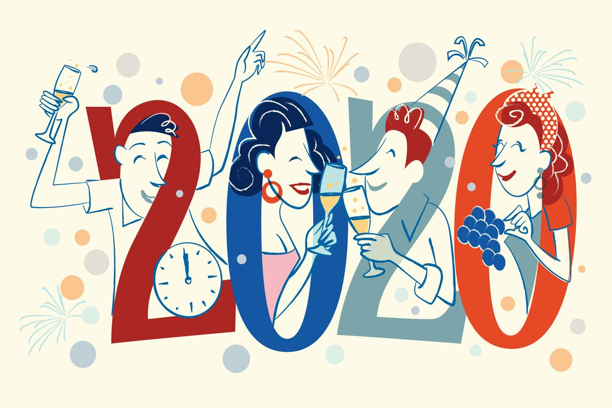 New Year party themes, New Year 2020, New Year's Eve, New Year, New Year Party, party ideas