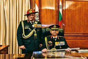 General Manoj Mukund Naravane takes charge as India's 28th Army chief