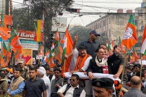 JP Nadda leads mega BJP rally in Kolkata in support of Citizenship Act