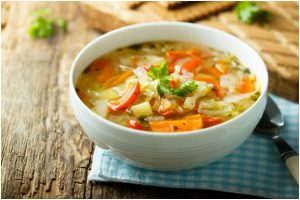 Flavourful and hearty winter vegetable soup