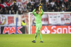 Alisson Becker does not want defensive standards to drop after Salzburg win