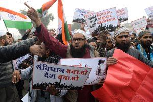 CAA protests: Large gatherings banned near Red Fort, massive jam at Delhi-Gurugram border
