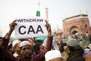 Anti-CAA protests: Hands tied, hundreds march towards PM residence; protest at Jama Masjid