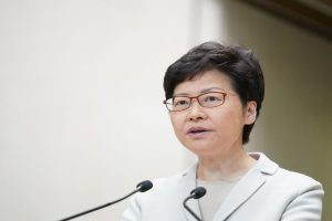 Hong Kong leader Carrie Lam closes ranks with China, condemns US law