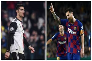 Lionel Messi at the pinnacle of 2019 league goal-scorers list, Cristiano Ronaldo not even in Top 50