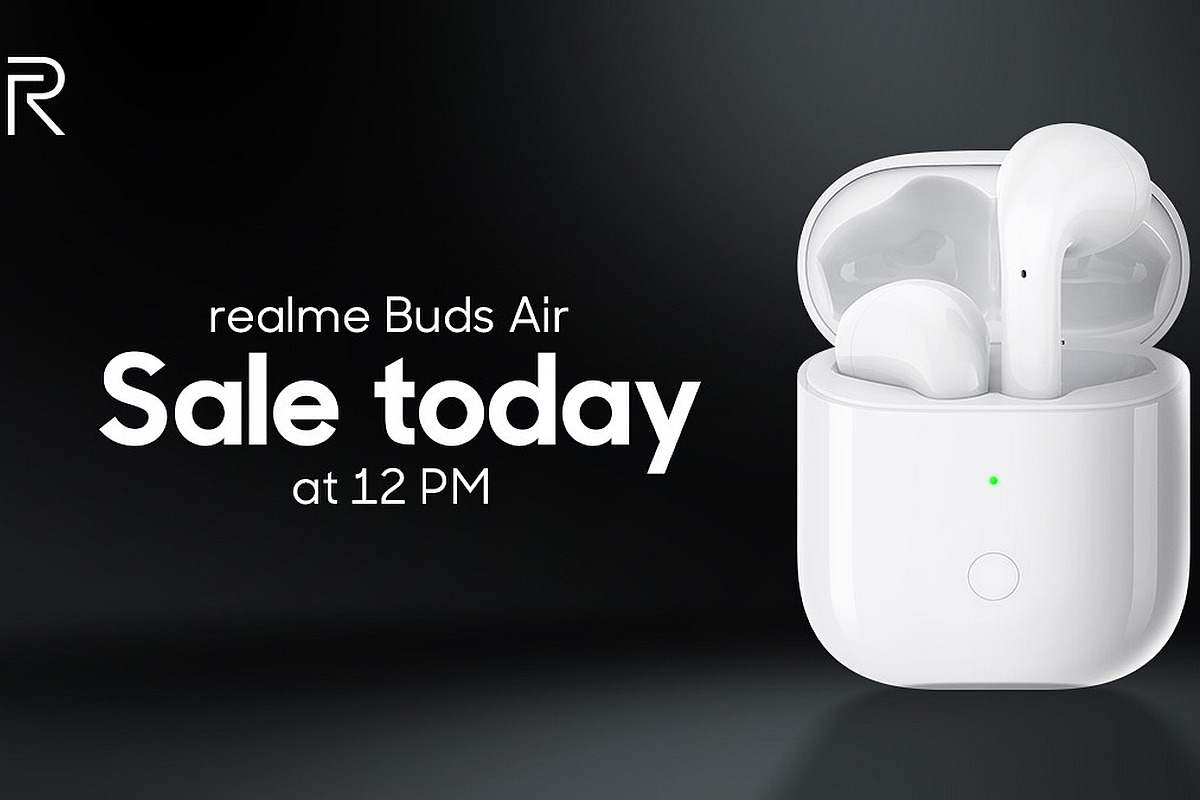 Realme Buds Air now available on Flipkart for Rs 3,999. Here are the details