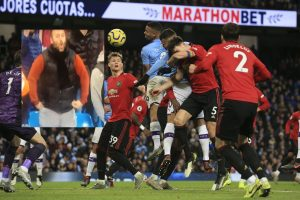Manchester Derby marred by racist incident as fan spotted doing 'monkey chant'