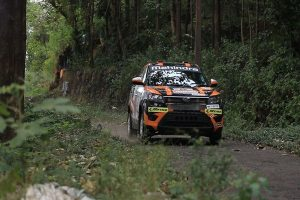Gaurav Gill sparkles on Day 1, INRC set for thrilling finish