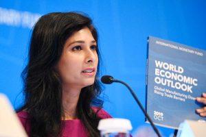 IMF chief economist Gita Gopinath says regulatory uncertainty played role in India's slowdown