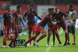 ISL: Late goal helps NorthEast save a point against Jamshedpur