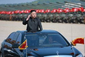 North Korea leader Kim Jong-un celebrates completion of new township