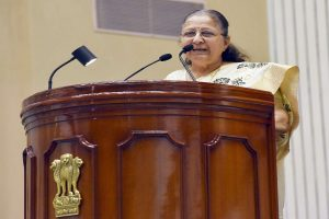 'Couldn't speak against BJP in MP, asked Cong to raise issues,' admits Sumitra Mahajan