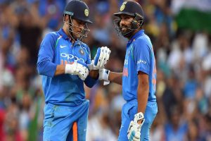 'We haven't heard any news about him': Rohit Sharma on MS Dhoni