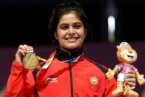 Manu Bhaker wins gold medals in senior, junior 10m air pistol events in Nationals