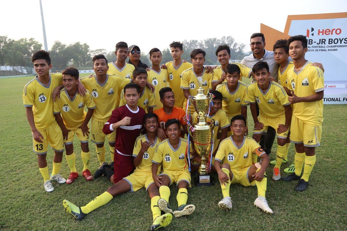 Meghalaya, Arunachal Pradesh, sub-junior national football championship, Kalyani Stadium, Colinsalmon Lyngdoh, Samlang Rympei, Teibok Nongrum