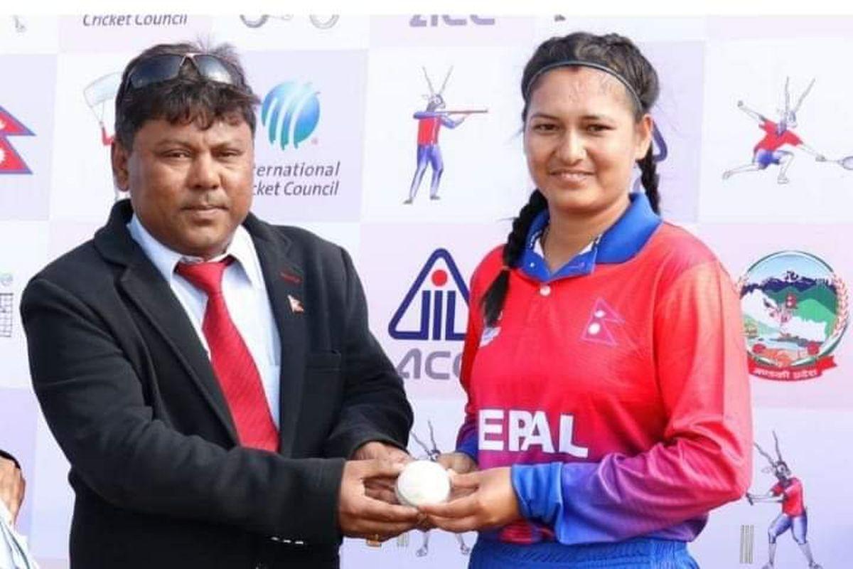 Anjali Chand, Nepal, Maldives, South Asian Games