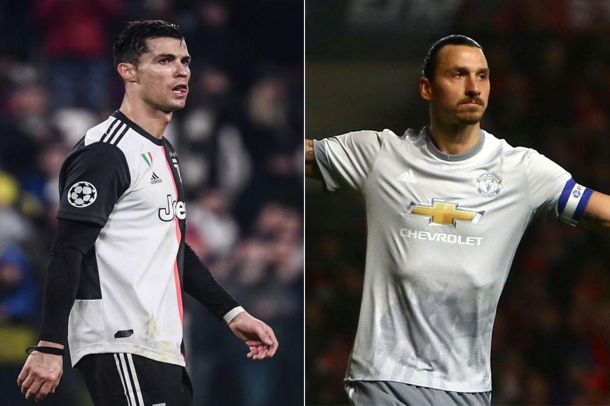 Cristiano Ronaldo, Zlatan Ibrahimovic, Juventus,