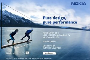 Nokia 55-inch smart TV with JBL audio launched by Flipkart