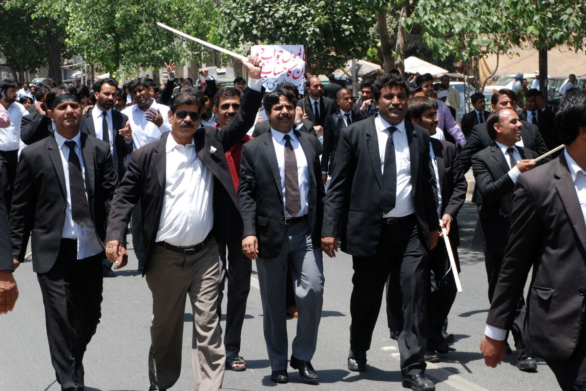 Pakistani lawyers go on nationwide strike