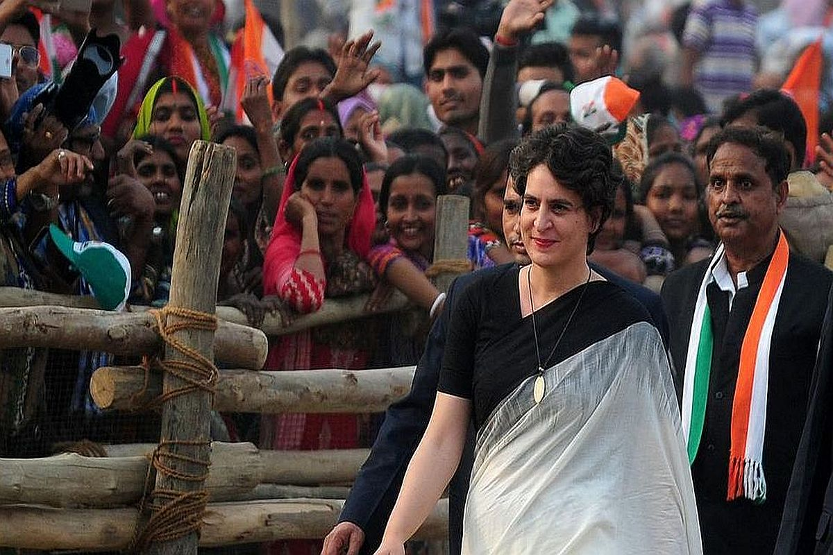 Security breach at Priyanka Gandhi home after losing SPG cover; family of 5  drives in, asks for photo - The Statesman