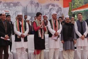 Priyanka Gandhi hits out at BJP for 'lying' on CAA, slams UP govt over Meerut video