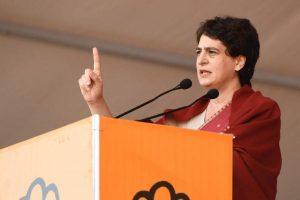 'Despite hundreds of incidents of women abuse, UP govt fails to protect them': Priyanka Gandhi