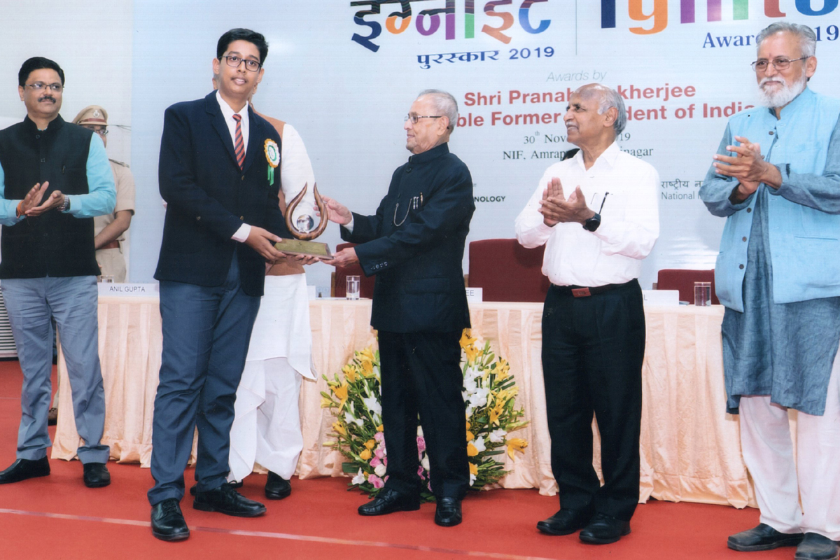APJ Abdul Kalam, IGNITE Awards 2019, National Innovation Foundation, NIF, IGNITE Awards, Gandhinagar, Gujarat, Pranab Mukherjee, Mahatma Gandhi
