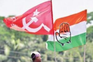 Congress, Left begin 12-day long march to city
