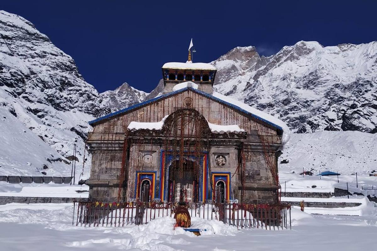 Kedarnath, Dehradun, Rudraprayag, Snowfall, Uttarakhand