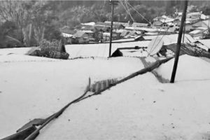 Kurseong shivers after hailstorm